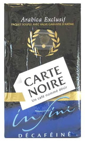 Carte Noire Decaf Ground Coffee From Carte Noire Coffee At