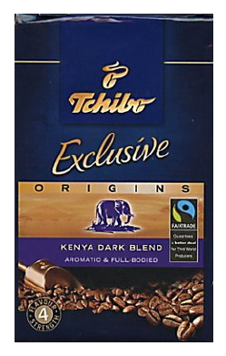 Kenya Dark Soft Pack Coffee From Tchibo At Cheap Coffee