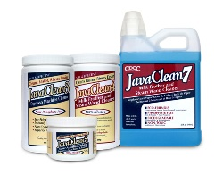 Coffee Cleaning Supplies