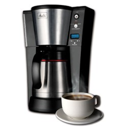 10 Cup Programmable Thermal Coffee Brewer - Black