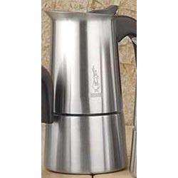 10-Cup Stainless Steel Stovetop Espresso Makers
