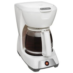 12 Cup Coffeemaker - White