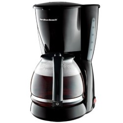 12 Cup Coffeemaker with Auto Pause and Serve - Black