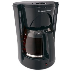 12 Cup Coffeemaker with Brew Strength Selector - Black