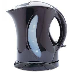 1.7 liter Cordless Electric Kettle with Water Filter - Black