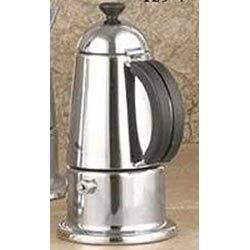 4-Cups Stainless Steel Stovetop Espresso Maker