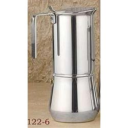 6-Cup Stainless Steel Stovetop Espresso Maker