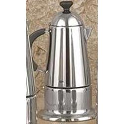 6-Cups Stainless Steel Stovetop Espresso Maker