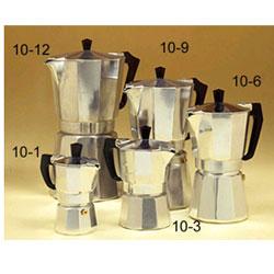 Aluminum Stovetop Espresso Maker 12 Cup