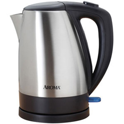 Aroma 7-Cup Electric Water Kettle Stainless Steel