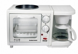 Better Chef Breakfast Central 3-in-1 Meal Maker White