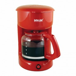 Better Chef IM-114R 12-cup Red Coffeemaker