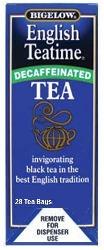 Bigelow Decaf English Tea