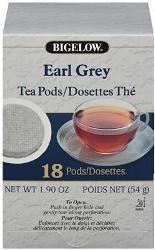 Bigelow Earl Grey Pods 108-CS