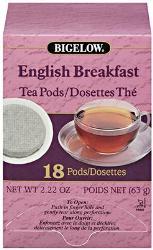Bigelow English Breakfast Pods 108-CS