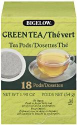Bigelow Green Tea Pods 108-CS