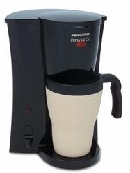 Black & Decker DCM18 Brew N Go Coffeemaker
