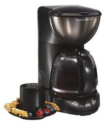 Black Ice Metal Collection 12 Cup Coffeemaker