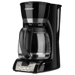 Black and Decker 12 Cup Programmable Coffee Maker