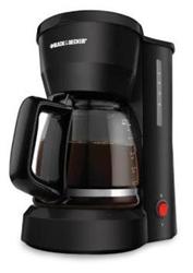 Black & Decker Dcm600b 5 Cup Coffeemaker Blk