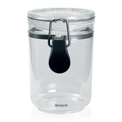 Brabantia Clip Top Clear Plastic Canister 0-8 Liter