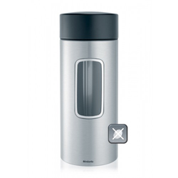Brabantia Stainless Steel Window Canister 2-2 Liter