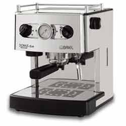 Briel Domus Due Pump Espresso Machine Stainless
