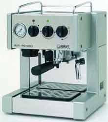 Briel Multi-Pro Prestige Thermo Block Espresso Machine in Stainless