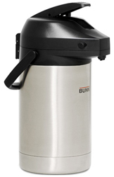Bunn 32125 2.5 Liter Lever-action Airpot - Stainless Steel
