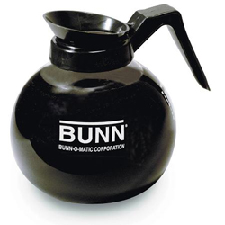 Bunn 42400 12-cup Glass Decanter  Black