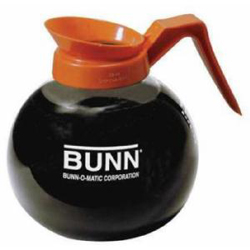 Bunn 42401 12-cup Glass Decanter  Orange