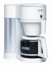 Bunn Nhbxw Contemporary 10 Cup Home Brewer White