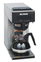 Bunn Vp17-1ss Pourover Coffee Brewer - Stainless Steel