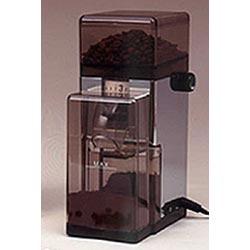 Chrome La Pavoni Conical Burr Coffee Grinder