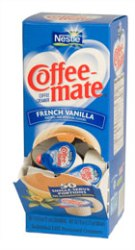 Coffee Mate 38 oz Liquid French Vanilla 180ct