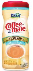 Coffee Mate Powder Canister Original Lite 11oz