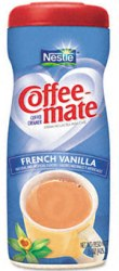 Coffee Mate Powder Creamer Canister French Vanilla 15oz