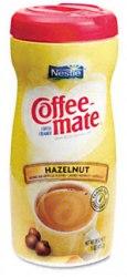 Coffee Mate Powder Creamer Canister Hazelnut 15oz