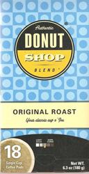 Coffee Pods Ri58011 Donut Shop Blend 18 Ct