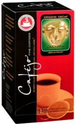 Colombian Decaf 100% Single Pods (Case of 216)