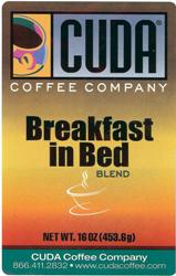 Cuda Coffee Breakfast in Bed Blend (1 lb)