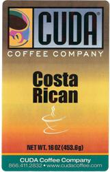 Cuda Coffee Costa Rican (1 lb)
