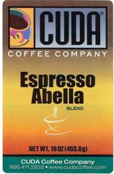 Cuda Coffee Espresso Abella (1 lb)