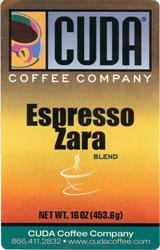 Cuda Coffee Espresso Zara (1 lb)