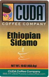Cuda Coffee Ethiopian Sidamo (1 lb)