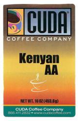 Cuda Coffee Kenyan AA (1 lb)