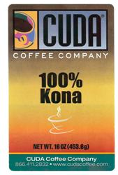 Cuda Coffee Kona 100% Extra Fancy (1 lb)