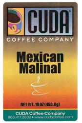 Cuda Coffee Mexican Malinal (1 lb)