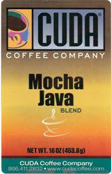 Cuda Coffee Mocha Java Blend (1 lb)