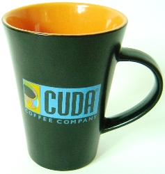 Cuda Coffee Mug Orange